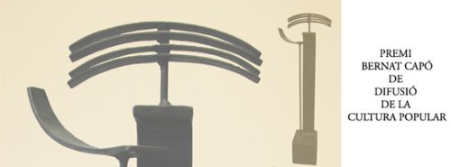 Imatge del guardó del Premi Bernat Capó