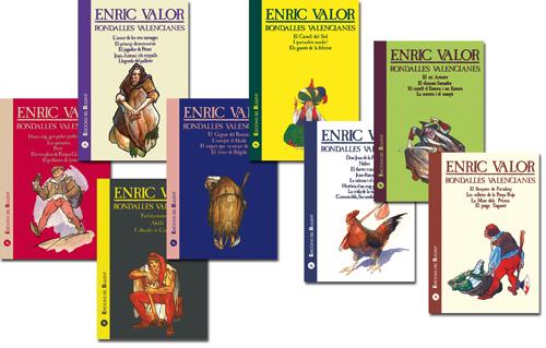 Rondalles valencianes d'Enric Valor (8 volums)